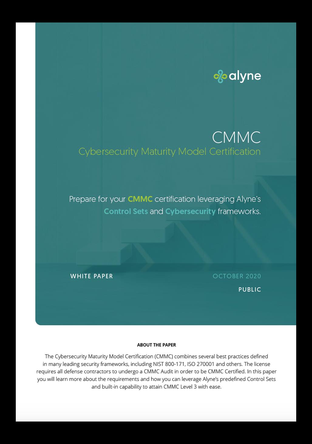 CMMC Paper Front